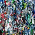 Bottiglie di plastica riciclata