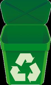 Cestino per riciclo